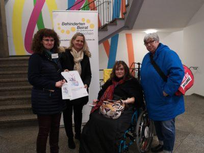 Termin beim Behindertenbeirat München
