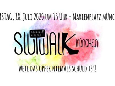 18. Juli 2020 Slutwalk München