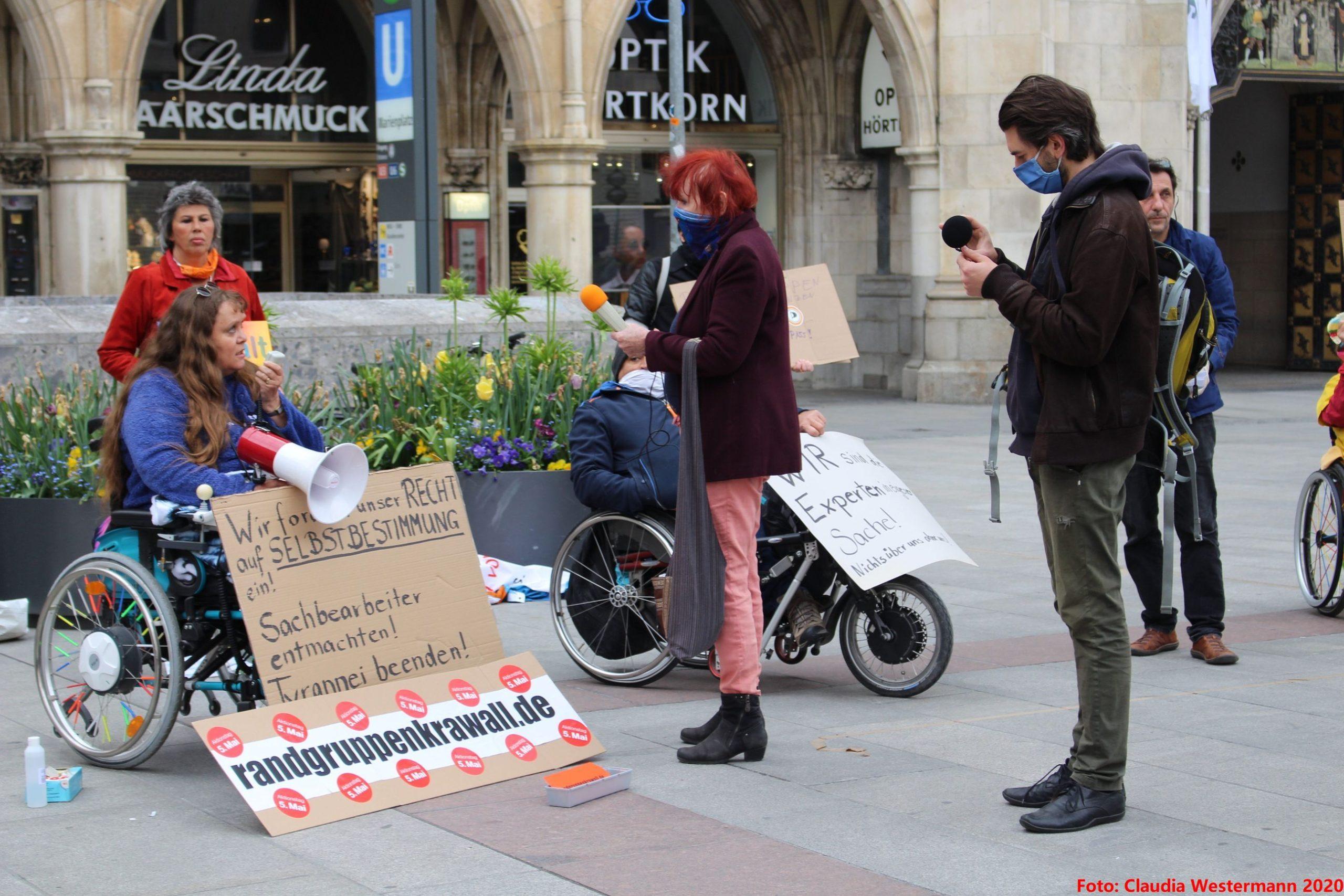 Behindertenprotesttag