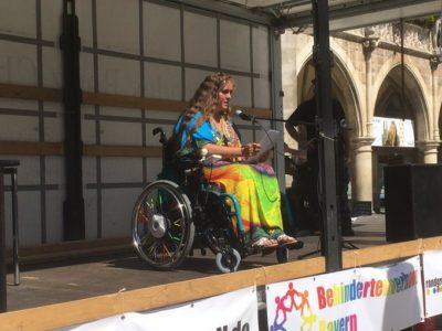 Randgruppenkrawall!-Behindertenprotest