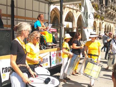 Randgruppenkrawall-Behindertenprotest Termine am 7.Mai und 1.August 2021
