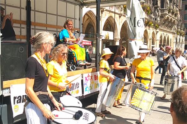 Foto von unserer Demo im August 2020