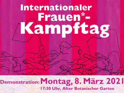 Internationaler Frauenkampftag 8. März