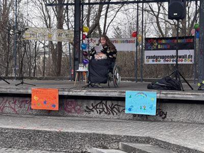Meine Rede beim Randgruppenkrawall-Behindertenprotest in Gröbenzell zum Thema Inklusion an Schulen