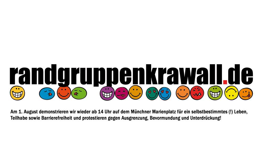 Randgruppenkrawall-Logo